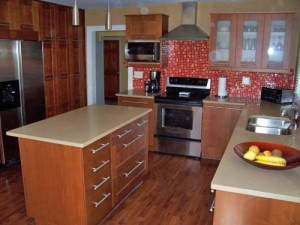 ultra-modern-small-kitchen-glass-tile-backsplash-22